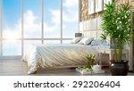 modern interior  in the loft... | Shutterstock . vector #292206404
