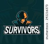 soldier mascot logo design... | Shutterstock .eps vector #292216373