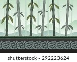 seamless bamboo landscape for...