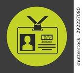 news concept design  vector... | Shutterstock .eps vector #292227080