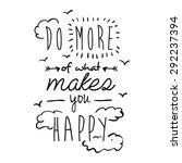encourage quotes design  over... | Shutterstock .eps vector #292237394