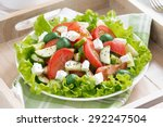 Plate Of Green Salad With...