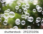 Movement Bubbles Floating In...