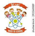 back to school design  vector... | Shutterstock .eps vector #292260089