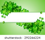 nature background with green...   Shutterstock . vector #292266224