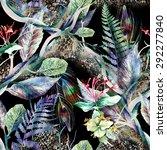 floral seamless pattern | Shutterstock . vector #292277840