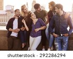 we feel great in the city  | Shutterstock . vector #292286294