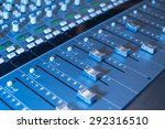 Faders Of Professional Audio...