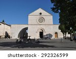assisi  italy   july 16 ... | Shutterstock . vector #292326599
