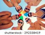 friendship  happiness  summer... | Shutterstock . vector #292338419