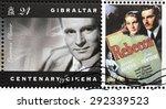 gibraltar   circa 1995  a... | Shutterstock . vector #292339523