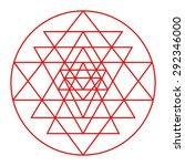sri yantra detail  sacred...