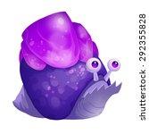 Illustration  The Crystal Snai...