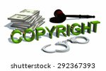 Copyright Sign   Handcuffs And...