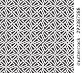 chain mail of intersecting...   Shutterstock .eps vector #292387388