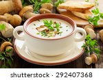 Delicious Soup Puree With Wild...
