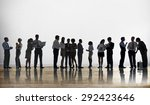 business people discussion... | Shutterstock . vector #292423646