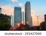 Jakarta Downtown At Beautiful...