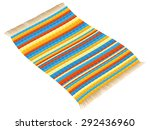 rag rug  vintage  colorful and... | Shutterstock .eps vector #292436960