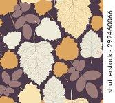 leaves   Shutterstock .eps vector #292460066