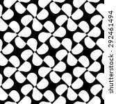 seamless flower pattern. vector ... | Shutterstock .eps vector #292461494