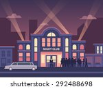 building nightclub full house.... | Shutterstock .eps vector #292488698