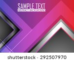 color abstract background | Shutterstock .eps vector #292507970