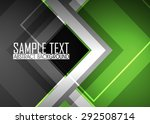 green abstract background | Shutterstock .eps vector #292508714
