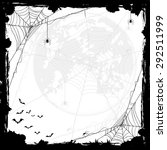 halloween abstract background... | Shutterstock . vector #292511999