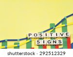 business term with climbing... | Shutterstock . vector #292512329