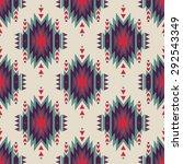 vector seamless decorative... | Shutterstock .eps vector #292543349