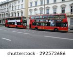 london  uk   may 25  2015  two... | Shutterstock . vector #292572686