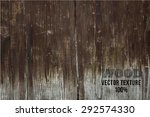 vector wood texture. background ... | Shutterstock .eps vector #292574330