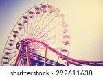 retro vintage instagram... | Shutterstock . vector #292611638