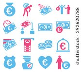 euro banking business and... | Shutterstock .eps vector #292620788