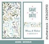 wedding invitation. birthday... | Shutterstock .eps vector #292620950