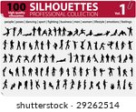 100 Silhouettes Professional...