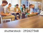 attentive creative business...   Shutterstock . vector #292627568