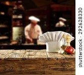 cook hat  | Shutterstock . vector #292628330