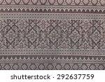 thailand beautiful woven | Shutterstock . vector #292637759
