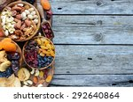 Mix Of Dried Fruits And Nuts  ...
