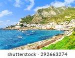 a veiw of levanzo island ... | Shutterstock . vector #292663274