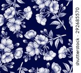 vector seamless background. a... | Shutterstock .eps vector #292685570