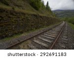 abandoned railroad | Shutterstock . vector #292691183
