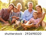 multi generation family... | Shutterstock . vector #292698320