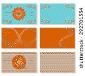 vector set of horizontal... | Shutterstock .eps vector #292701554