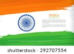 indian independence day. 15th... | Shutterstock .eps vector #292707554
