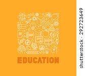 vector education concept in... | Shutterstock .eps vector #292723649