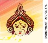 durga  saraswati  lakshmi... | Shutterstock .eps vector #292733576