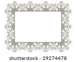 decorative frame | Shutterstock .eps vector #29274478